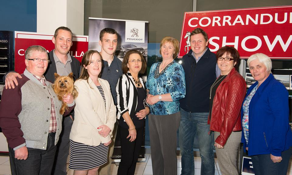 Some of Corrandulla Show's Organising Committee:  Mary Prendergast, Dermot Francis and Sinead Francis, Jason Comer, Lucille Smyth, Mary Gilmore, Joseph Allen, Martina Coen and Mary Lowry.