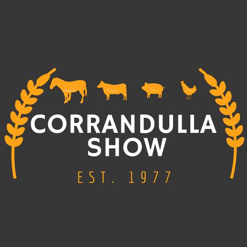 [Original size] corrandulla show logo navy